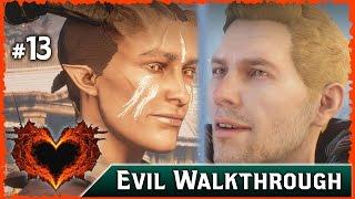 Dragon Age Inquisition: Cullen Rejects a Female Qunari Romance ► Evil Choices Walkthrough, Part 13