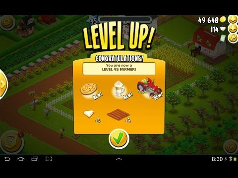 Hay Day Level 45