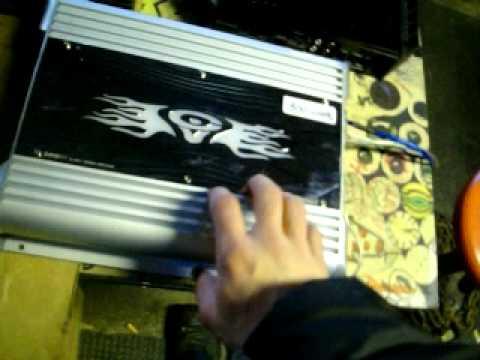 Cerwin Vega XL 300.1 mono block amp