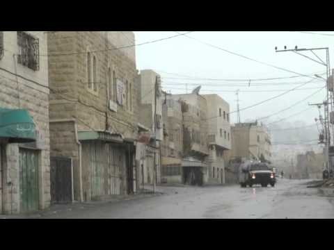 Israeli forces using skunk-water as collective punishment