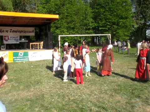 Zawieprzyce 2009 - Nauka Słowiańskiego Tańca