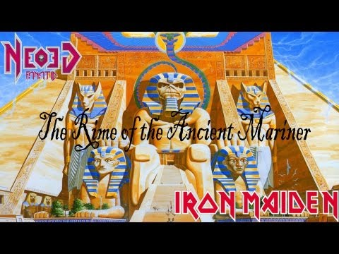 Iron Maiden - The Rime of the Ancient Mariner guitar cover - Neogeofanatic