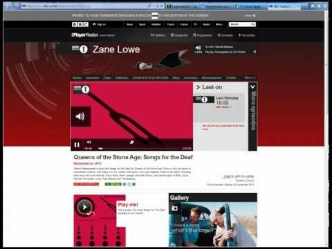 BBC Zane Lowe ( FULL PROGRAM) - Masterpieces 2012 - . Queens of the Stone Age: Songs for the Deaf