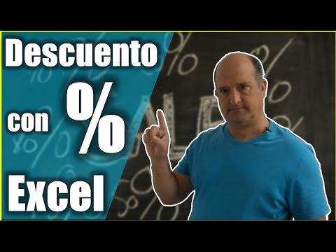 Vamos de Rebajas. Porcentaje en Excel: cómo calcularlo. Calcular descuento excel.
