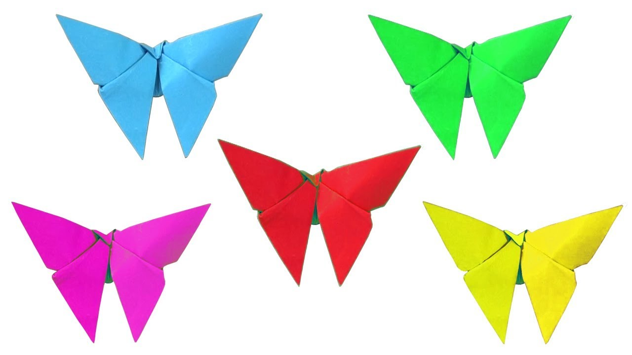 Как сделать с детьми бабочку 901