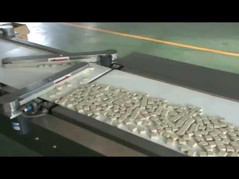 Автоматическая линия машина упаковки конфет типа конверт