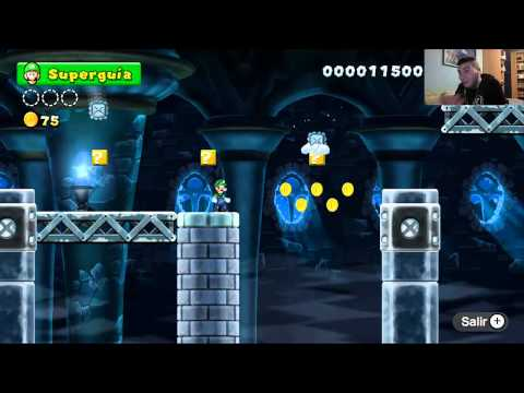 Nintendo Wii U | [New Super Mario Bros U - Walkthrough] Episodio #25 - Español