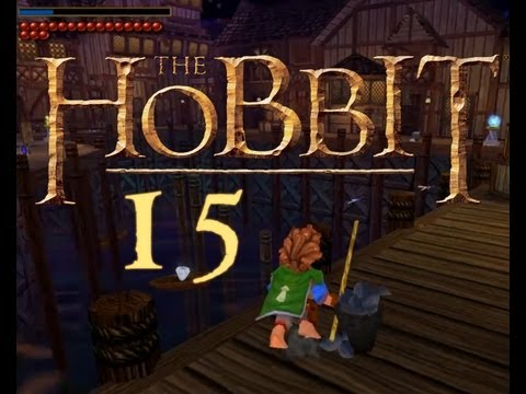 Let's Play: Der Hobbit [15 german] Willkommen in Seestadt