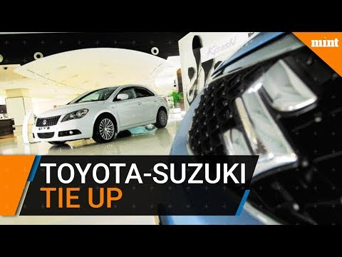 Toyota, Suzuki in tie-up to sell each other's cars in India