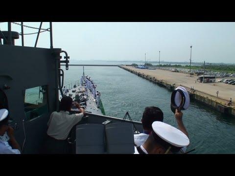 護衛艦「みねゆき」体験航海 富山湾をぐるり一周 [DD124 MINEYUKI] 2012.8.3