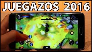 Los MEJORES JUEGOS Android 2016 - ROL, Estrategia y Acción