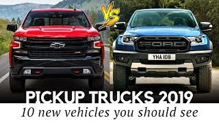 10 New Pickup Trucks Worth Buying in 2019: Tougher Exteriors & Updated Interiors