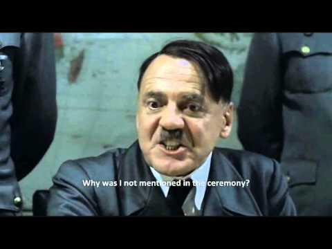 Hitler reviews the 2012 London Olympics Opening Ceremony