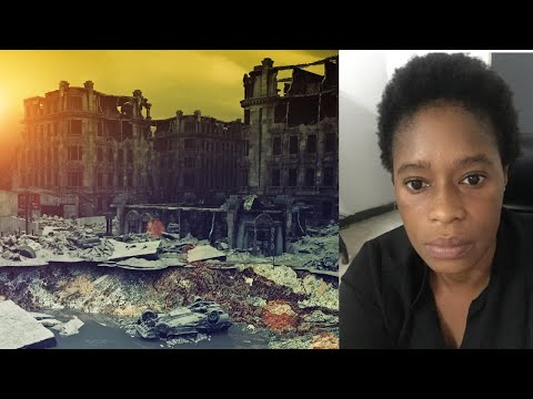 Vision apocalyptique sur la Fin du Monde et le serpent de l'Apocalypse -  Marguerite