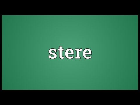 Header of stere