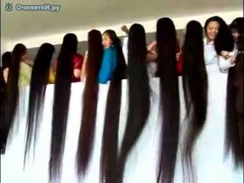 Самые длинные волосы Китая