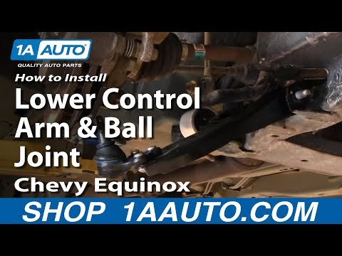 How To Install Replace Lower Control Arm and Ball Joint Chevy Equinox Saturn Vue 05-10 1AAuto.com