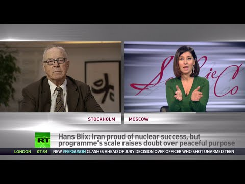 'Iran too big a fish to fry for Israel' - ex-IAEA chief Hans Blix