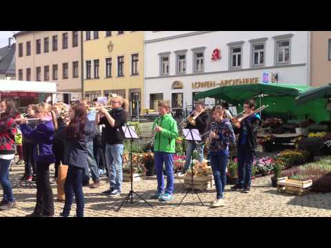 Flashmob das Steigerlied In Annaberg-buchholz Am 23.09.2014 video