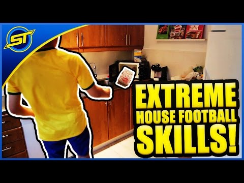 Extreme House Football Skills By Twins