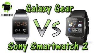 Galaxy Gear vs Sony Smartwatch 2 (Comparison)
