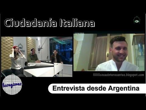 Ciudadanía Italiana: Entrevista Radio Demos