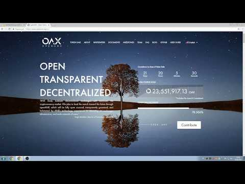 OpenANX - Децентрализованная биржа!