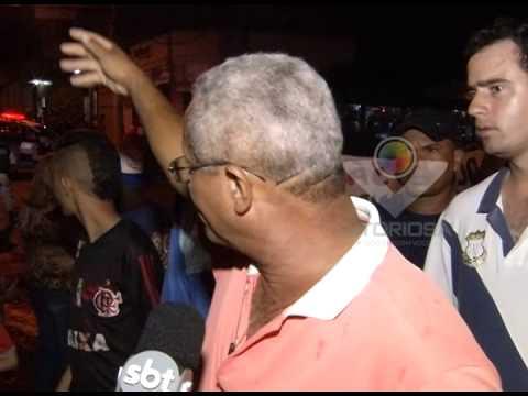 Moradores do Bairro Osvaldo Rezende continuam as manifestações para melhorias da sinalização