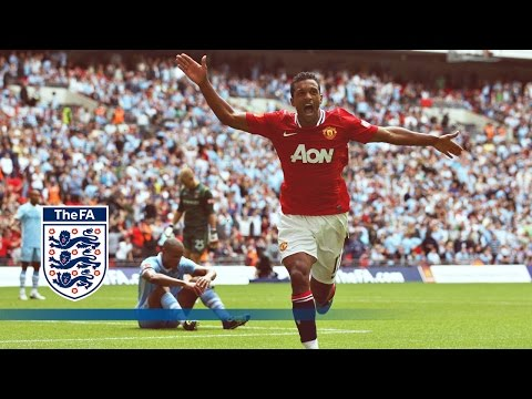 The Fa Community Shield - 2011 Manchester City 2-3 Manchester United Highlights video