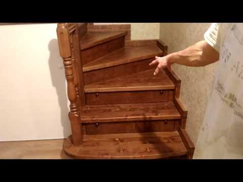 Супер-лестница!!! С встроенными ящиками и полным фаршем)))))
