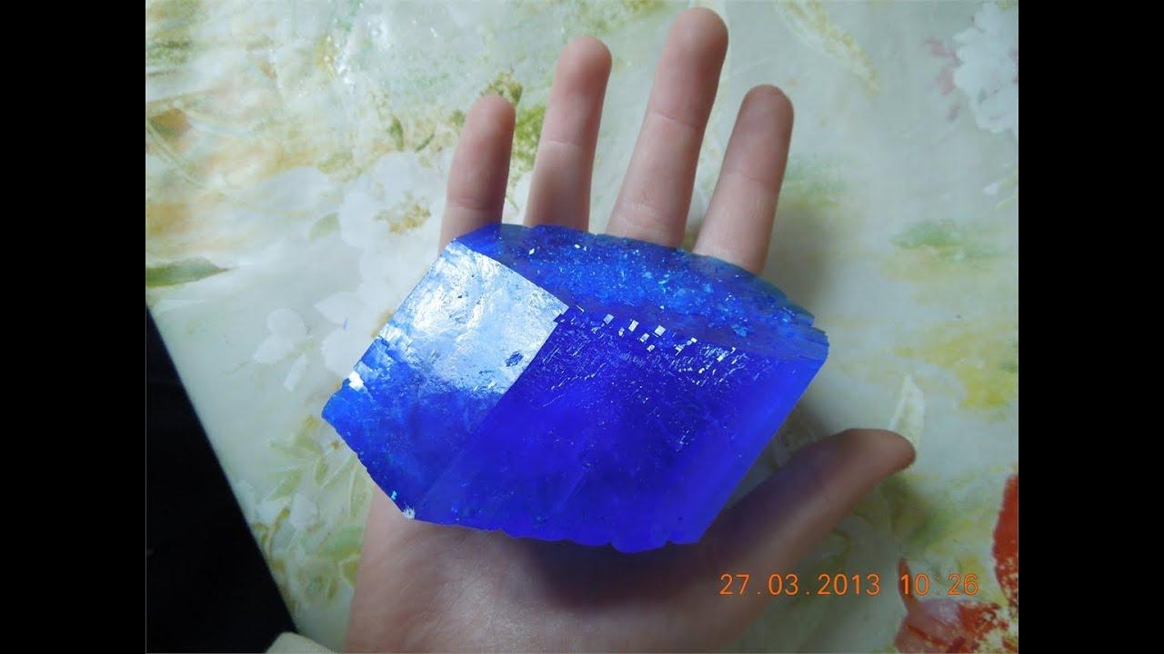 Как сделать кристалл из медного купороса в домашних условиях за 1 день