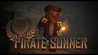 Minecraft : Pirate Summer (World Gaming Craft Server) minigame