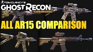 Which AR15 is the Best? - GHOST RECON WILDLANDS AR Test and Review
