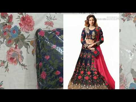 Flipkart new lehenga unboxing and review|bridal lehenga|party wear lehenga|latest review