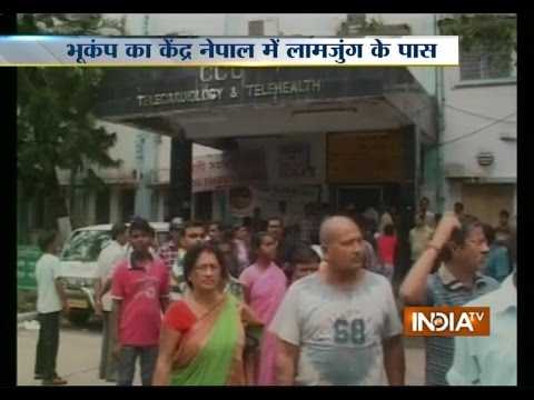 Watch footage from Siliguri showing the damage caused by Earthquake