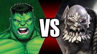 HULK VS DOOMSDAY | BATALHA MORTAL