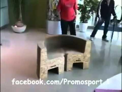 الكرسي الياباني المدهش