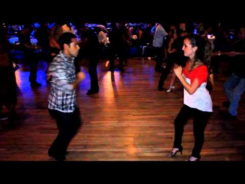 Denisse Cambria & Jose Luis Gutierrez - Born to Salsa (BTS) on the South FL Salsa Scene (Aug 2012)