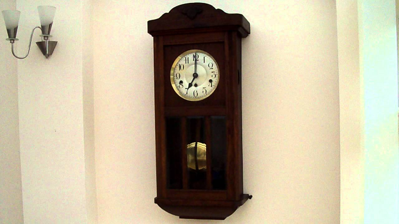 Kienzle Westminster Chime Wall Clock Youtube