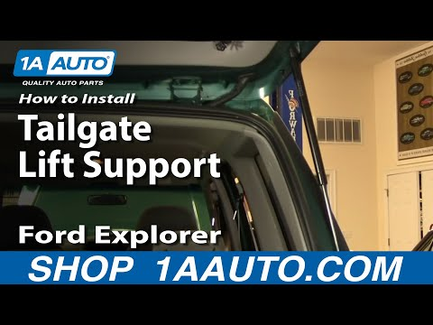 How To Install Replace Tailgate Strut Support Ford Explorer Sport Mazda Navajo 91-01 1AAuto.com