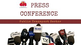 Press Conference by PM Mottley on Public Transport Sector