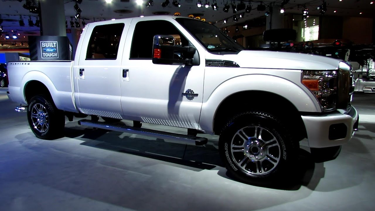 2013 Ford F 350 Super Duty Lariat Exterior And Interior