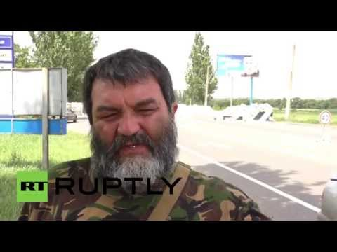 Ukraine: Self-defence units appeal to Russian