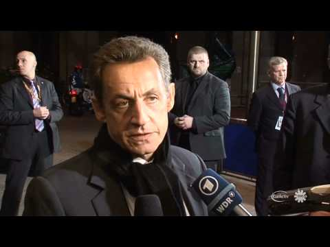 Sarkozy reports progress on Euro rescue, sees deal Wednesday (French)