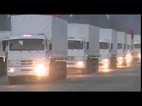 The Huge Convoy of Russia's Humanitarian Aid