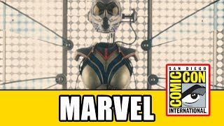 Captain Marvel & Ant-Man And The Wasp - Marvel Comic Con 2017 Panel