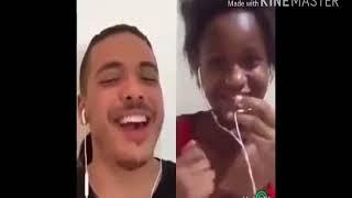 Garota cantando errado a musica do Wesley Safadão