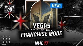 NHL 17: VEGAS GOLDEN KNIGHTS FRANCHISE MODE - SEASON 9