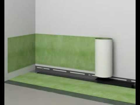 receveur de douche l 39 italienne quick drain youtube. Black Bedroom Furniture Sets. Home Design Ideas