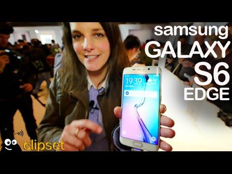 Samsung Galaxy S6 Edge preview MWC15 espa�ol